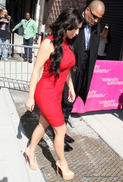 "Kim Kardashian at ""The Wendy Williams Show"" in New York-8"