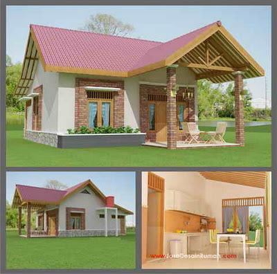 contoh lengkap gambar rumah minimalis terbaru   berryhs