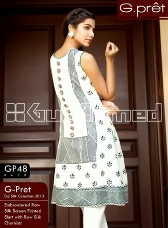 Gul Ahmed Silk Suit Designs