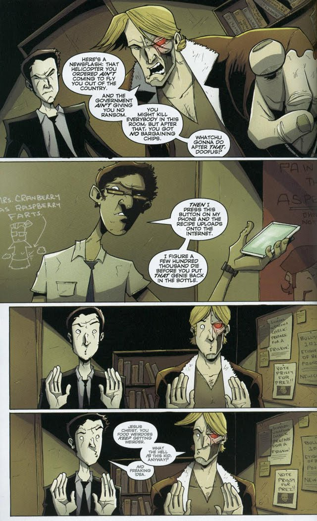 Chew #17 by John Layman and Rob Guillory