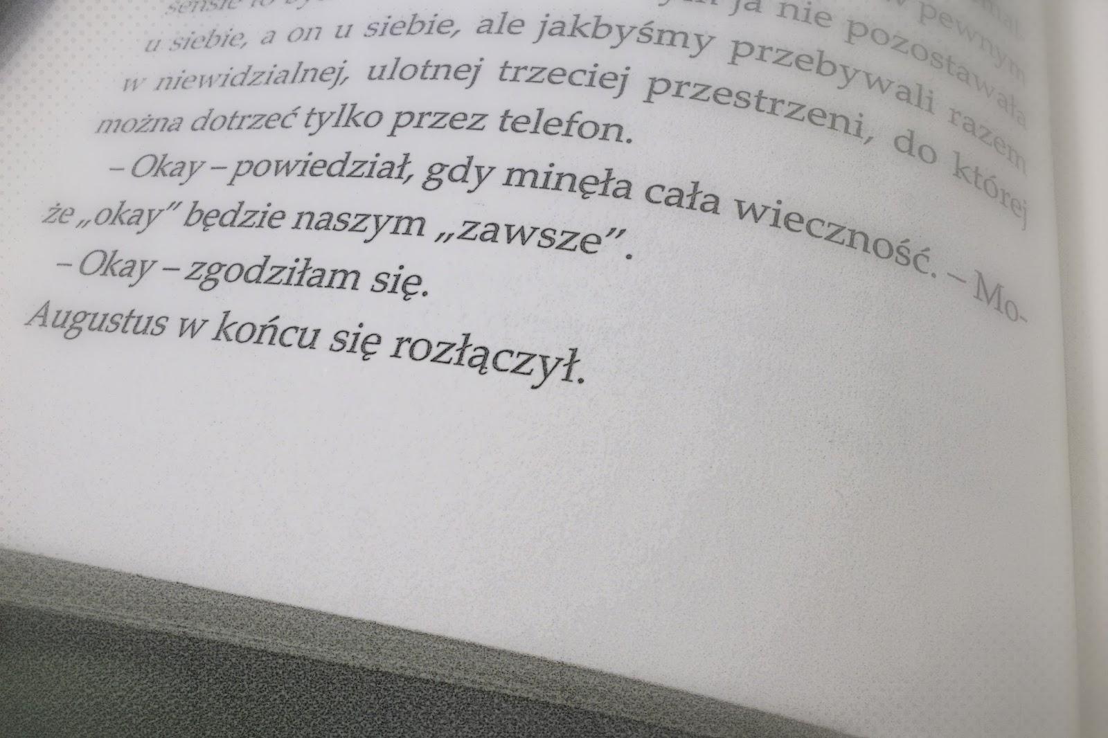 W Cieniu Wyobraźni Gwiazd Naszych Wina Film Książka