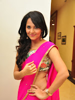 Anasuya new dazzling photo shoot in saree-cover-photo