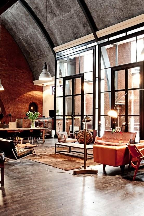 inmodesarrollo fachadas minimalistas estilo loft industrial On interior decoration kingdom new lands