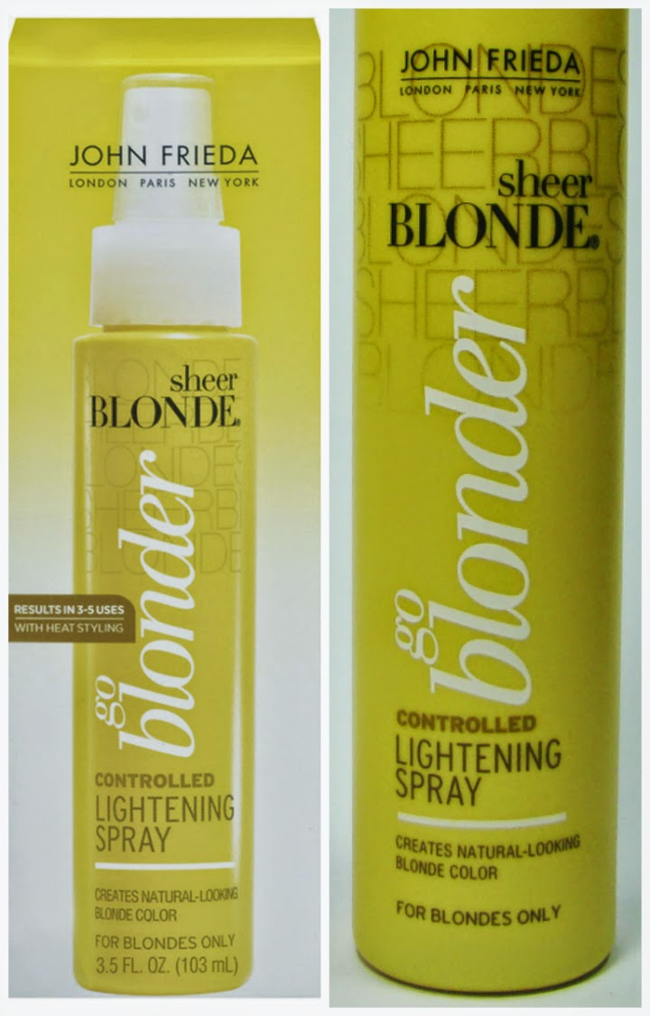spray, clareador, gradativo, john, frieda, harty, cosmeticos, loiros, cabelos, amarelados, sem, vida, brilho, extremo,