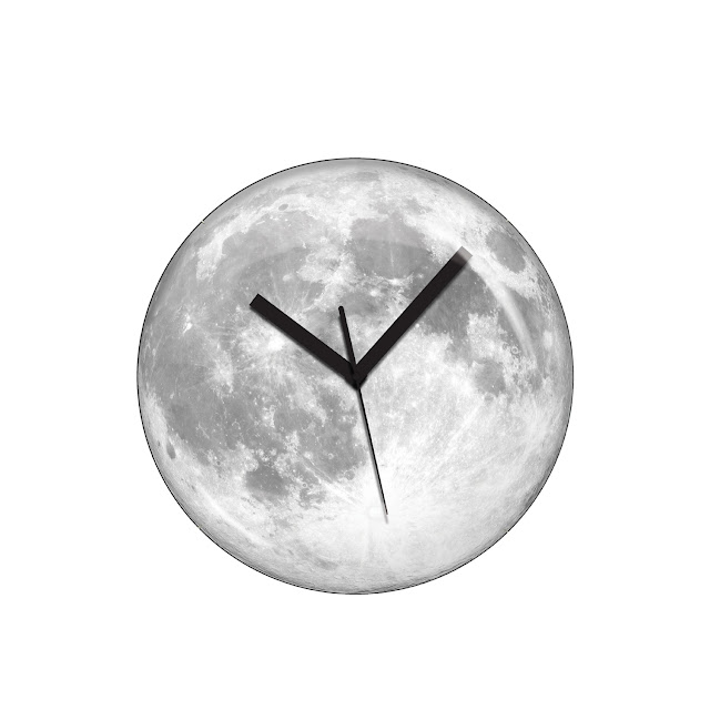 Claire de Lune Moonlight Clock