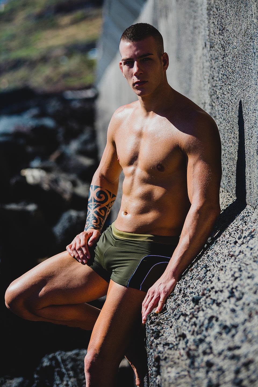 Christopher García by Adrian C Martin - ST33LE swimwear