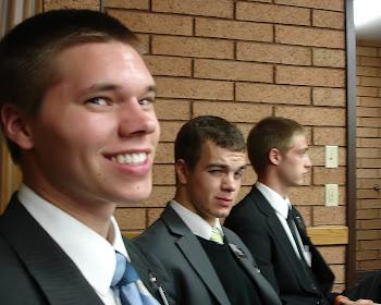Elder Kinney's Roommates