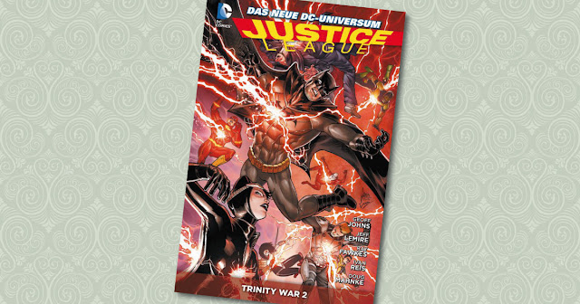 Trinity War 2 Justice League Panini Cover