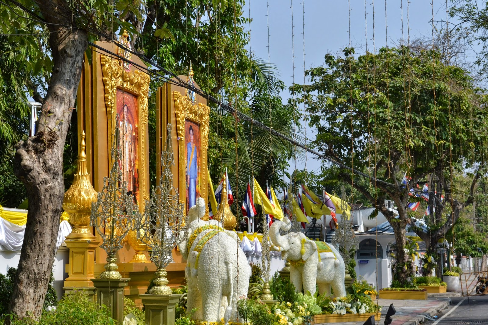 Bangkok, Thailande, voyage