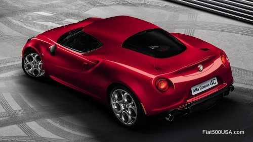 Alfa Romeo 4C rear quarter