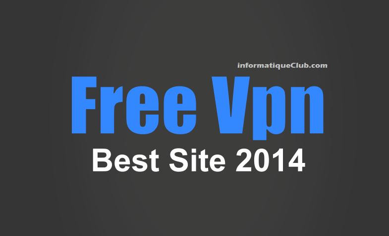free vpn 2014