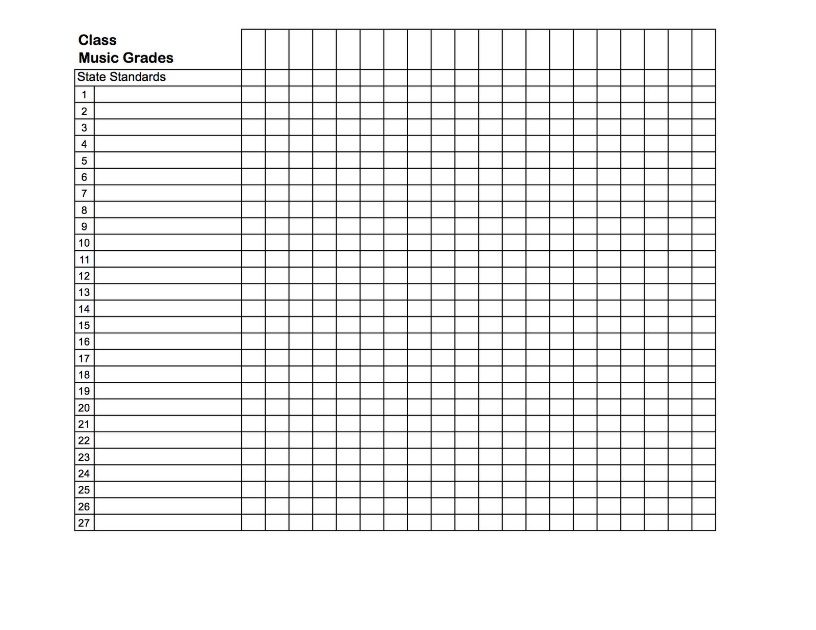 free printable teacher grade book sheets organization pinterest