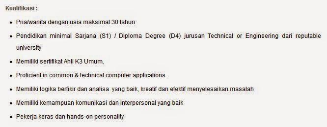 lowongan kerja pt meiji indonesia pasuruan