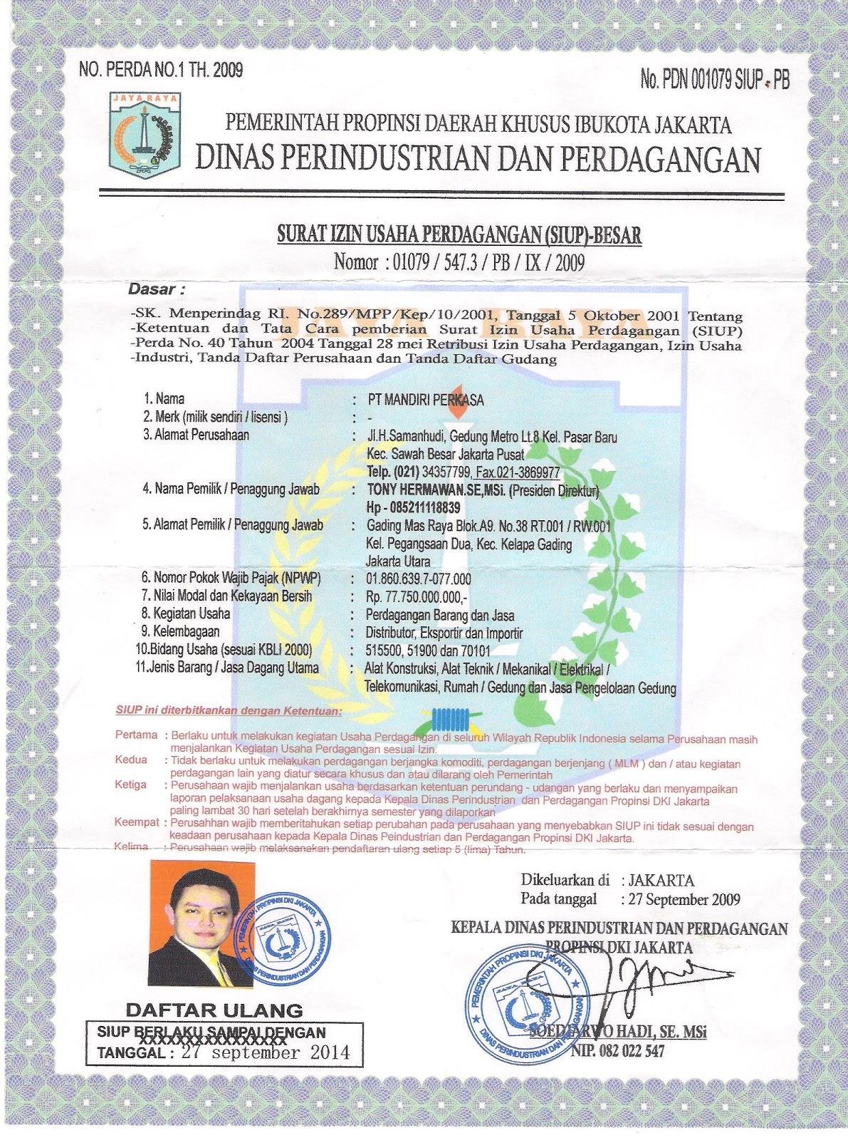 lingkungan kedua surat tersebut dikeluarkan oleh pemerintah daerah