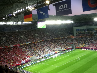 Germany v Denmark, Lviv New Stadium, Ukraine