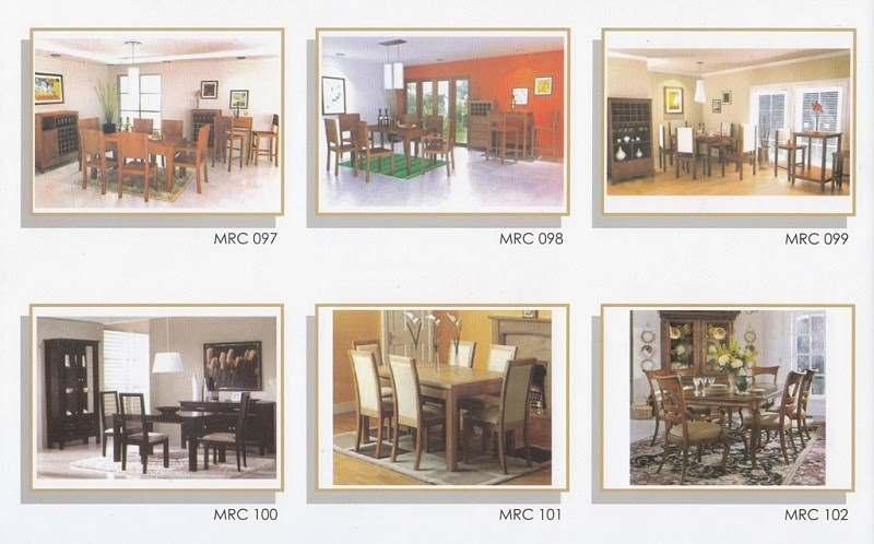SET MEJA MAKAN MINIMALIS MRC 097 - 102