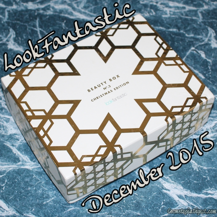 Here are the the contents of the LookFantastic December 2015 Beauty Box for Christmas.