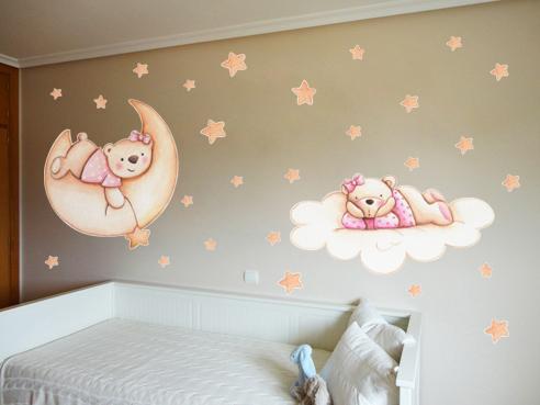 Decopared vinilos para beb s for Pegatinas para decorar habitaciones