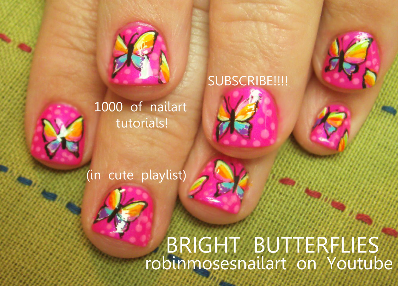 Nail Art Design: crazy neon nails, fun neon nails, neon flower nail ...