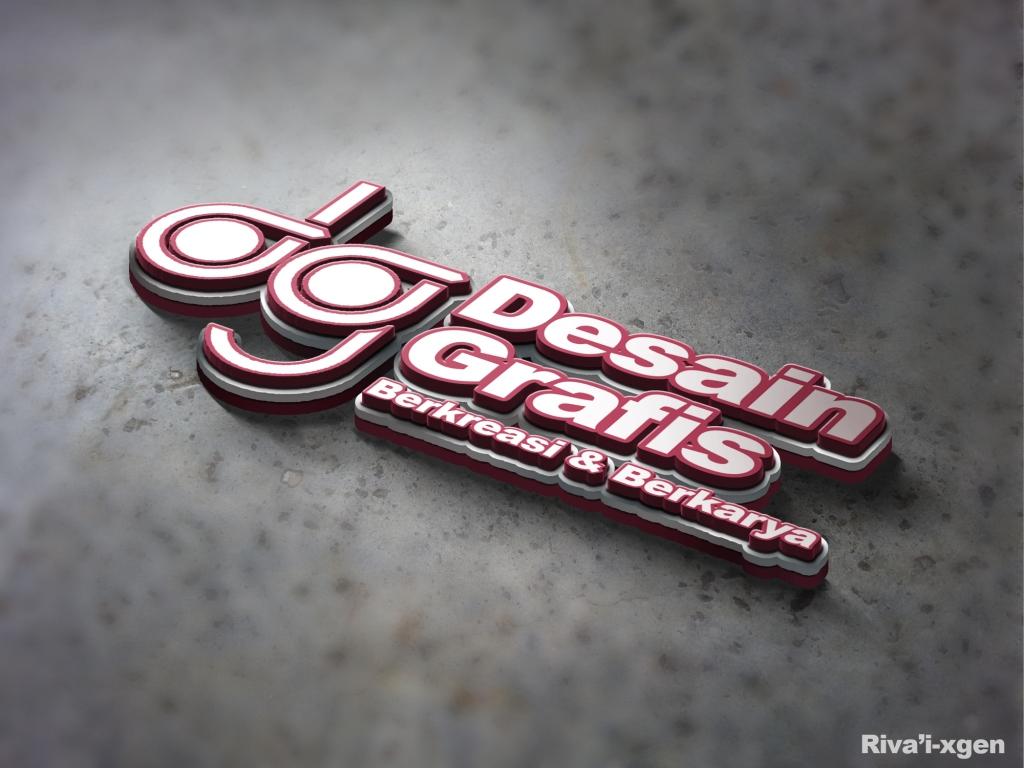 text and logo desain grafis stikom db jambi desain grafis