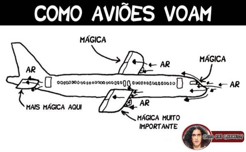 Como os aviões voam?