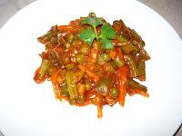 Готовые овощи в томате
