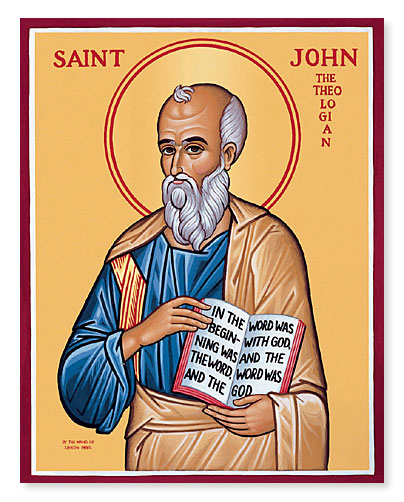 a life of st john the evangelist Thus it was natural that st john, the chief evangelist of the divinity of christ it is touching to read how the holy, man promised to atone for the youth's sins, if he would repent, and lead a better life the youth followed the saint's admonition.