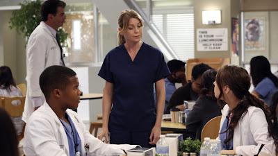 Escena de la novena temporada de la serie Anatomía de Grey