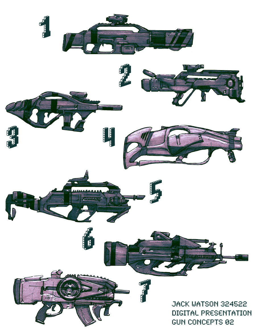 Fantasy Guns Designs