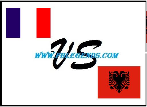 مشاهدة مباراة فرنسا والبانيا بث مباشر اليوم 13-6-2015 اون لاين مباراة ودية يوتيوب لايف albania vs france