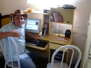 ESTUDIO  DE GRAVAÇÃO DA RADIIO CULTURA  FM DE CAJAZEIRAS DAQUI SAI NOSSO ALMANAQUE DO SERTÃO