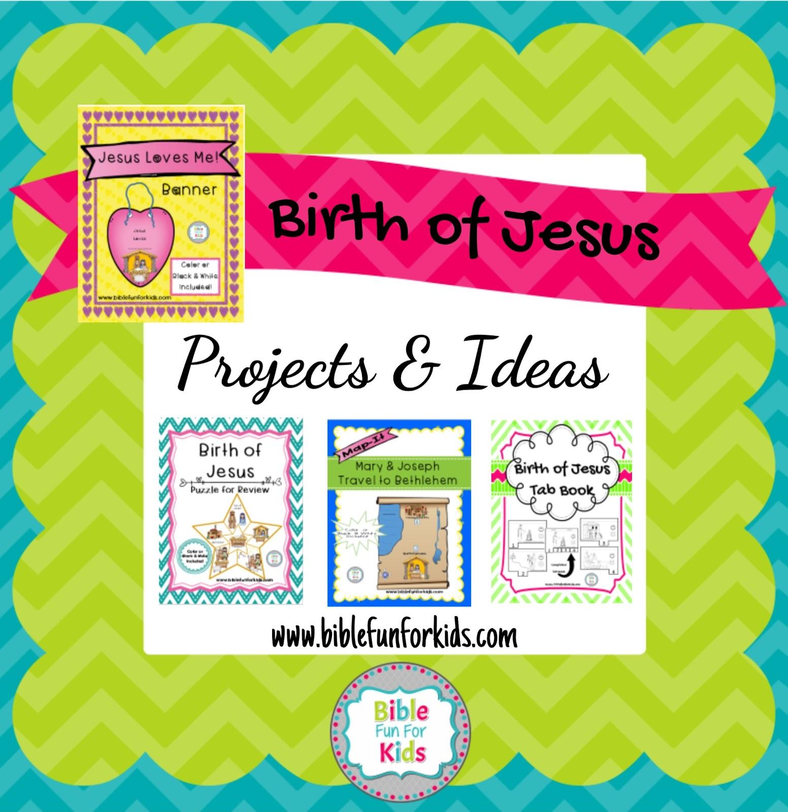 bible fun for kids 4 1 birth of jesus u0026 shepherds visit