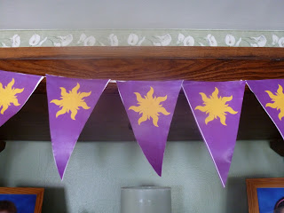 Rapunzel party decorations