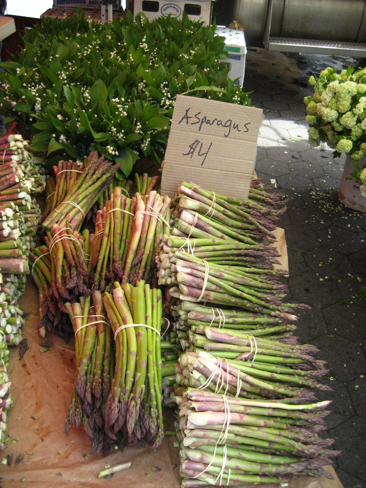You Know How I Know? Because Asparagus Has Popped Up At The Local Farmer's  Market I'm Starting To See Rhubarb In The Stands Again