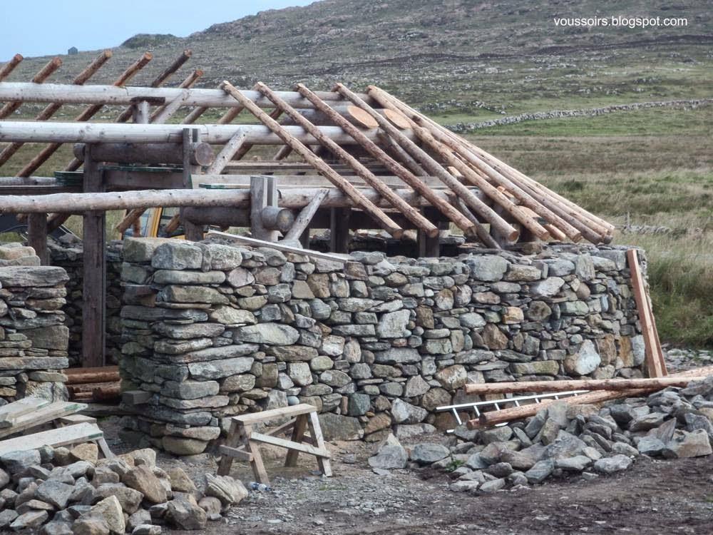 Arquitectura de casas casas tradicionales hechas con - Construccion casas de piedra ...