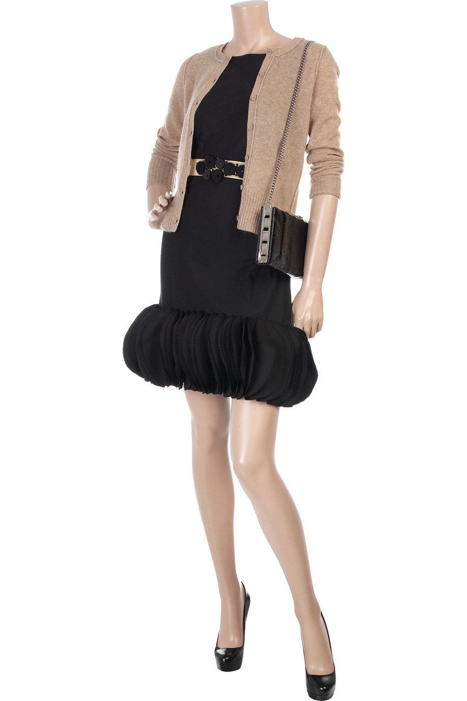 Christian Louboutin Alti 160mm Black Patent Reed Fashion