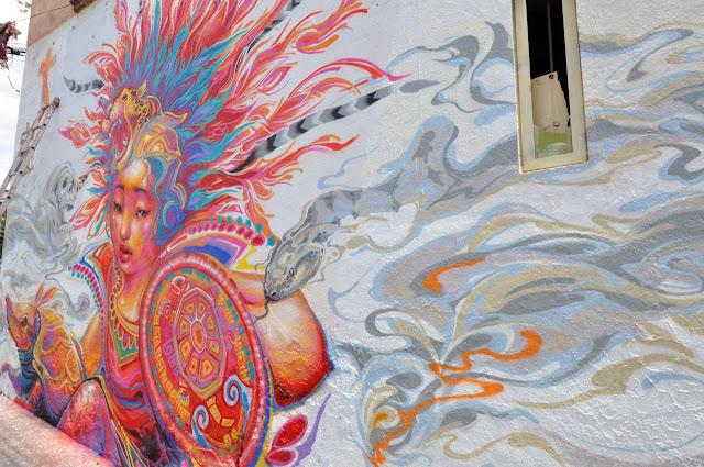 Street Art By Kenta Torii In Queretaro , Mexico For The Board Dripper Festival. 4