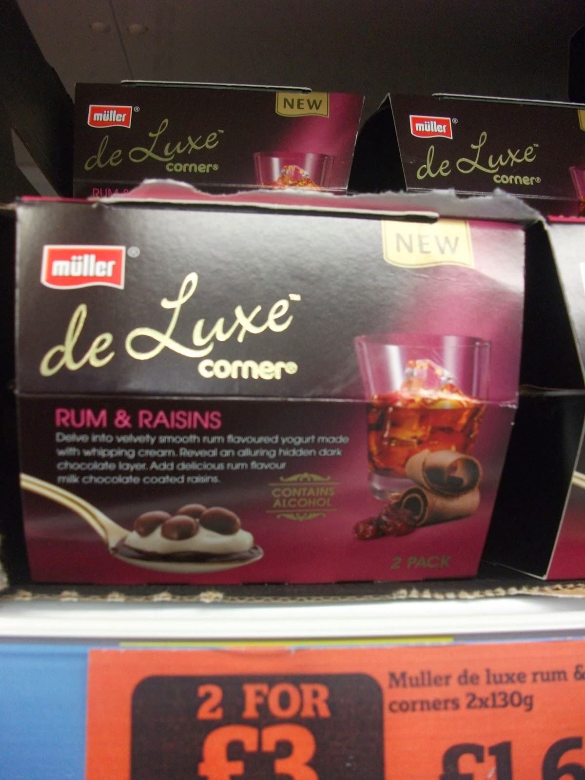 muller deluxe corner rum and raisin