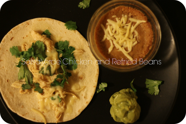 Mexican Chicken, Refried Beans