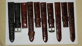 dây đồng hồ da cá sấu 47