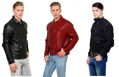 Men Leather Jacket Online from Goguava