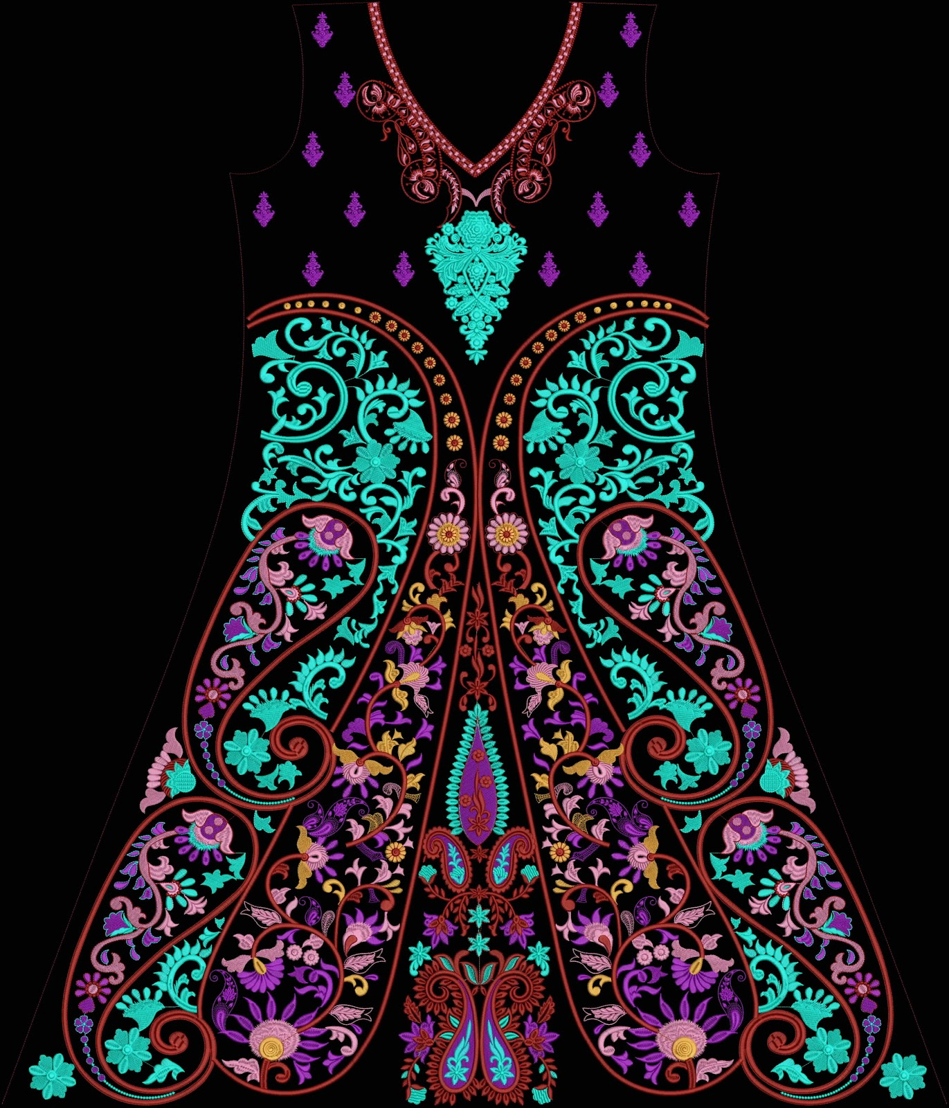 Embroidery designs april