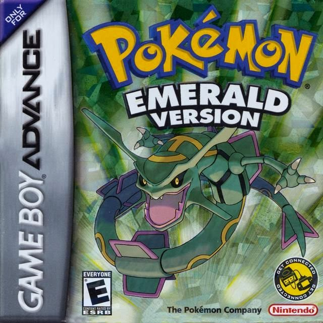 Pokemon - Emerald Version ROM For Gameboy Advance http://jembersantri.blogspot.com cover logo gratis