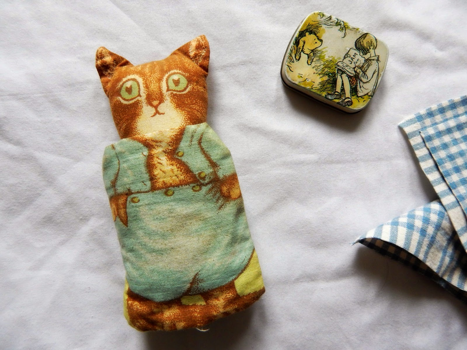Beatrix Potter Pincushion