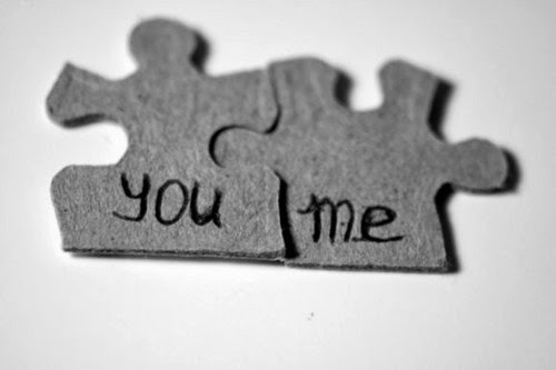 You and Me Puzzle Pieces