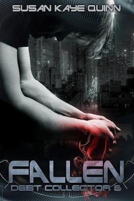 Cover Reveal: Fallen (Debt Collector #6) by Susan Kaye Quinn
