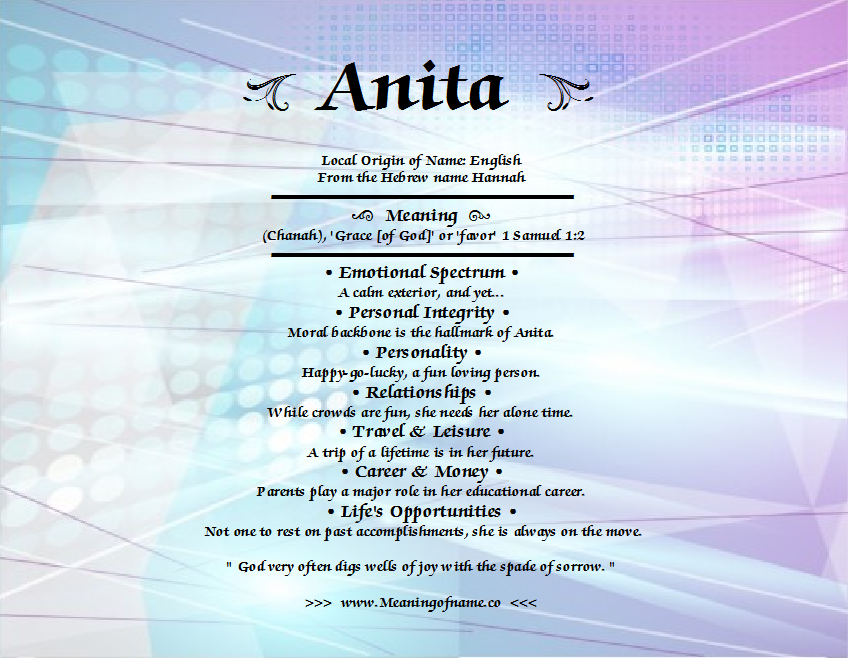Anita on pinterest name necklace names and name generator for What is the significance of pi s unusual name
