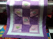 2011 - Purple/White/Pink QFC Charity Quilt