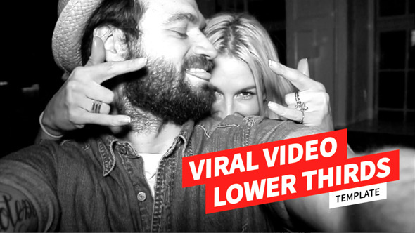 VideoHive Viral Video Lower Thirds Template
