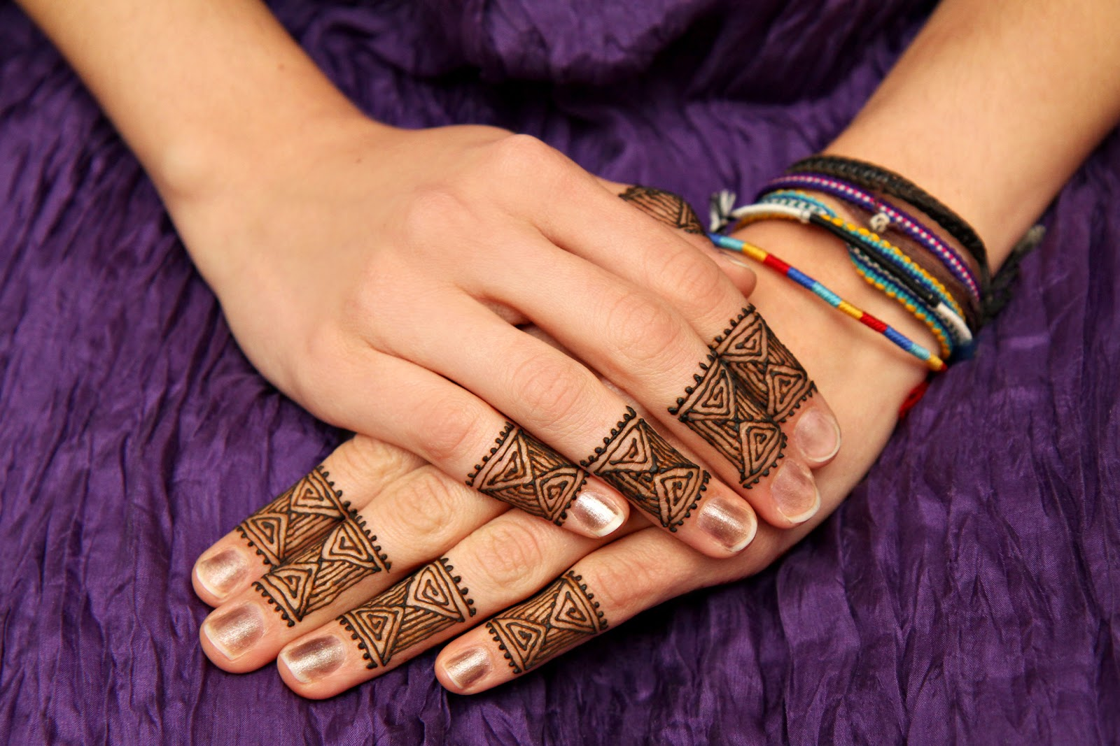 Mehndi Fingers Design : Beautiful latest simple arabic pakistani indian bridal